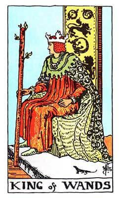 KING OF WANDS  Card