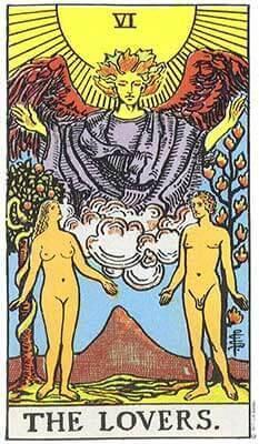 Lovers Card in Tarot Reading
