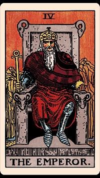 Tarot card in Aries