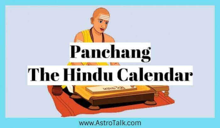 Panchang- The Most Prestigious Hindu Calendar