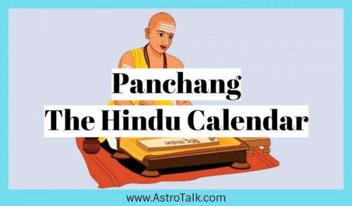 Panchang- The Hindu Calendar
