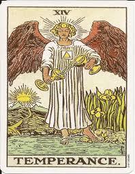 Sagittarius Tarot Card: Temperance