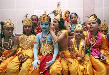 Sri Krishna Celebration across the Globe