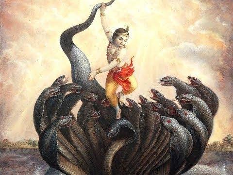 Glance of Godliness of Krishna