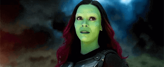 the fearless Avenger Gamora