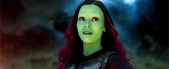 the fearless Avenger Gamora
