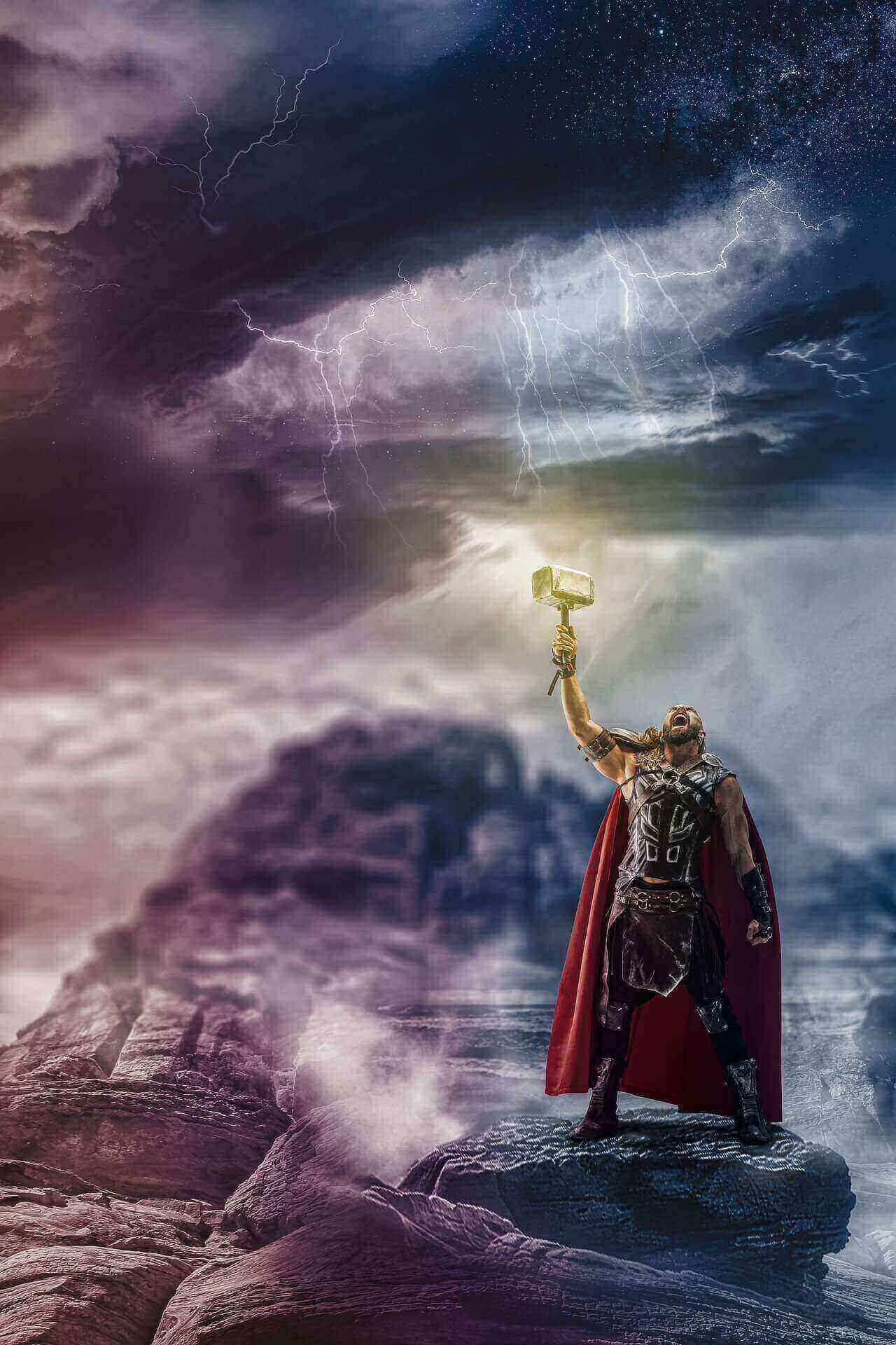 Almighty avenger Thor