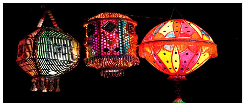 diwali chandeliers
