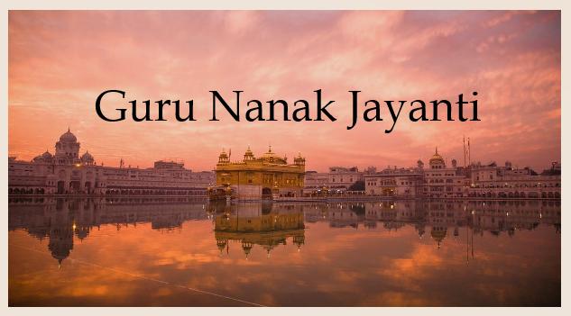 Guru Nanak Jayanti- Guruparb 2019