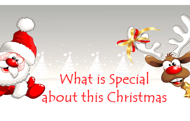 What is Special about this Christmas