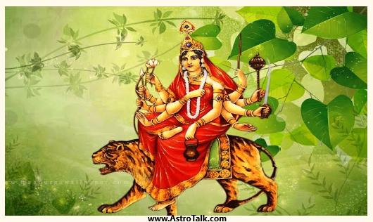 Durga Avatar Devi Chandraghanta