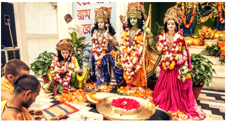 Celebration of Ram Navami across the Country