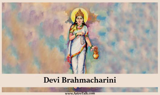 Durga Avatar Devi Brahmacharini