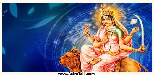Durga Avatar Devi Katyayani -Planet Venus