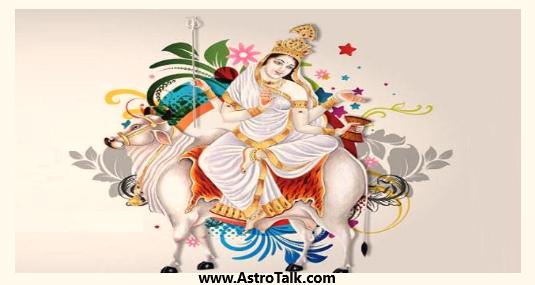 Durga Avatar Devi Maha Gauri -Planet Mercury