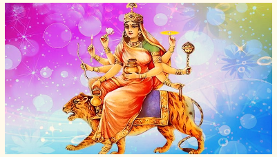 Goddess	Kushmanda- improves health and strength