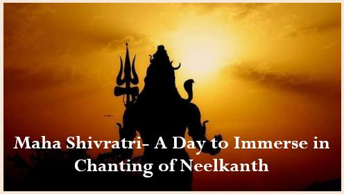 Maha Shivratri 2020- Immersing day in Chanting of Neelkanth