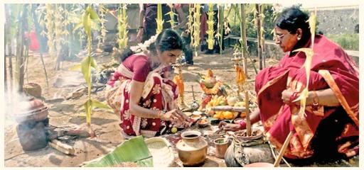 Harvest festival celebration in Kerala