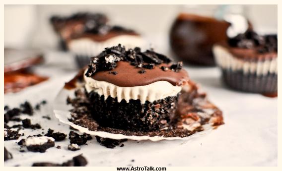Scorpio (23rd October to 21st November) - Peanut Butter Fudge Coffee Ice Cream Cupcakes