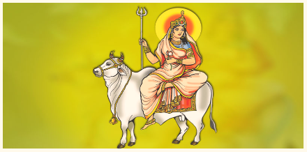 Shailputri- purest of all the nine forms of Goddess Durga