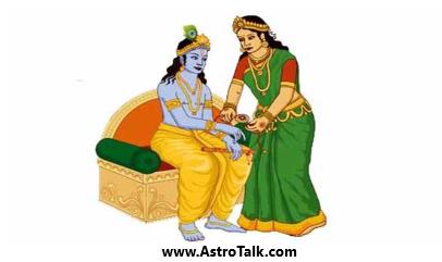 The bond of Krishna and Draupadi