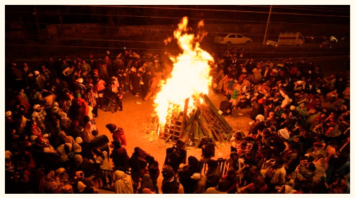 Tradition and Festivity of Lohri