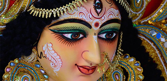 Goddess Durga and her Nine Manifestations