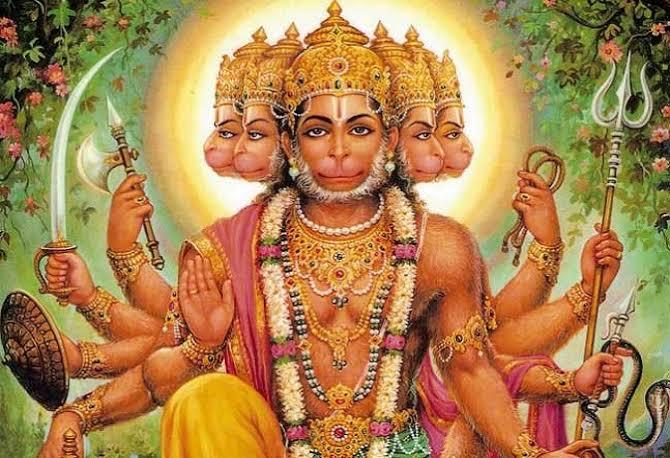 Dakshin Mukhi Hanuman