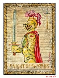 Swords in Minor Arcana