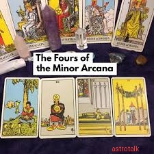 Each set cards in Minor Arcana
