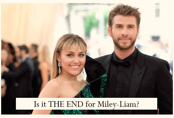 Is it THE END for Miley-Liam?