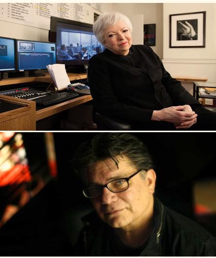 Steven Zaillian and Thelma Schoonmaker