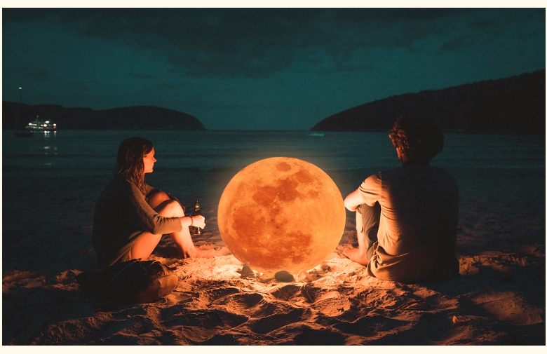 What does Full Moon Reflect?