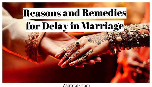 Astrology behind Marriage Delays