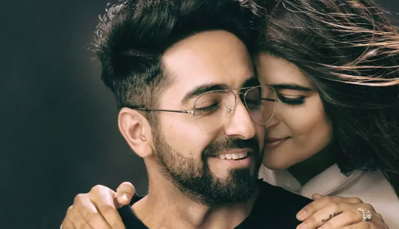 Ayushmann with wife Tahira