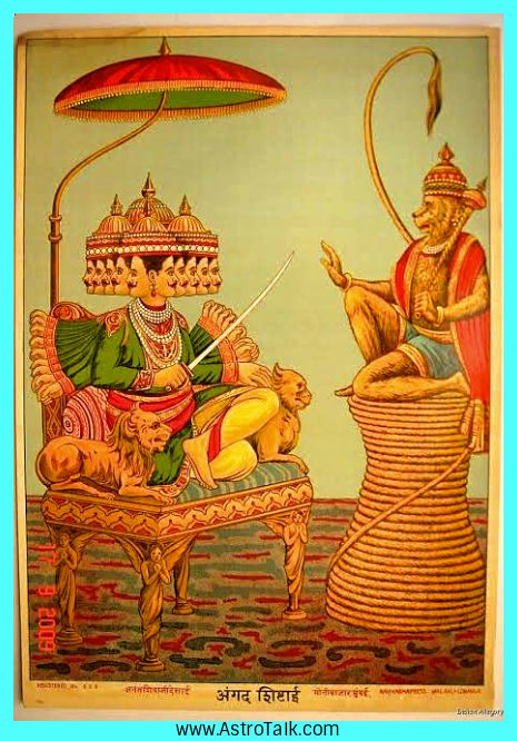 Angada from Ramayana