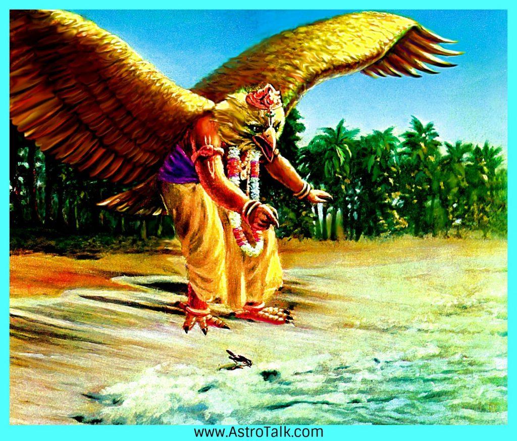 Garuda from Ramayana