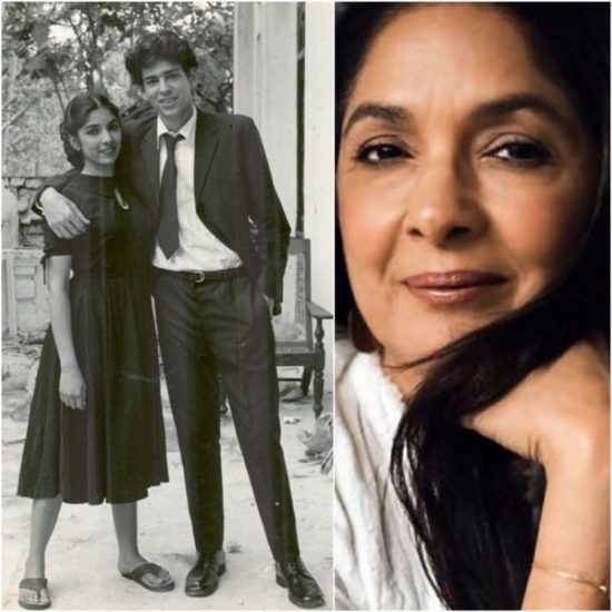 Neena Gupta shares picture with Trikal star, Bollywood showers all the love