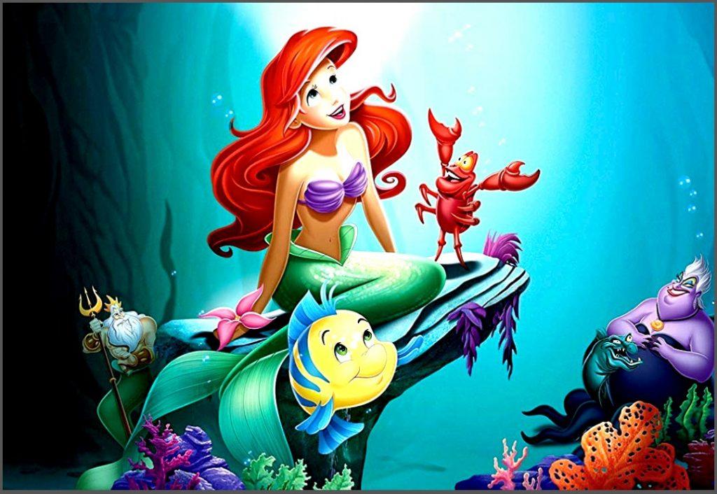 Halloween Little Mermaid