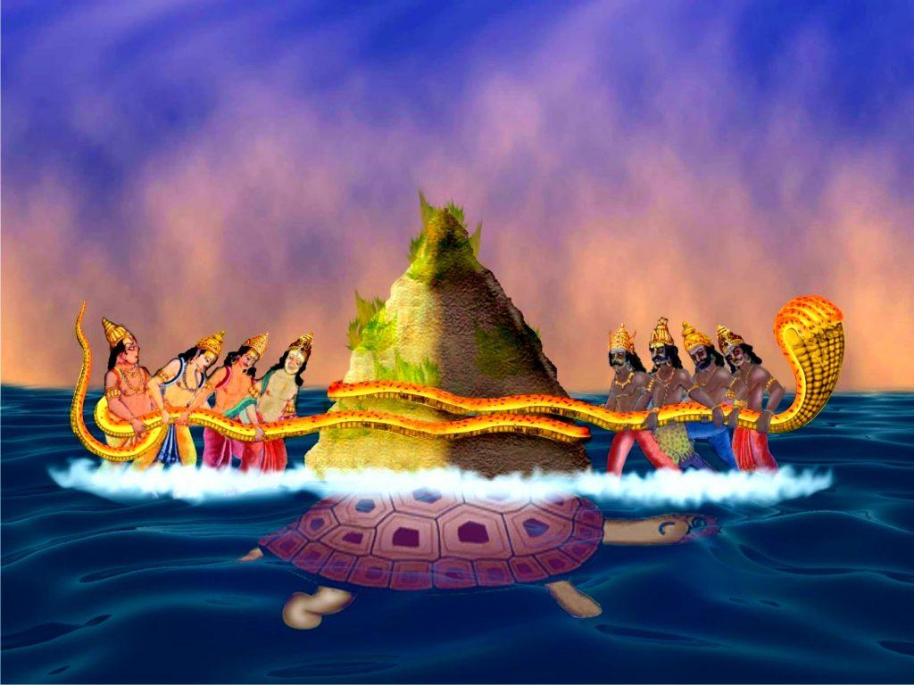 Vasuki Samudra manthan