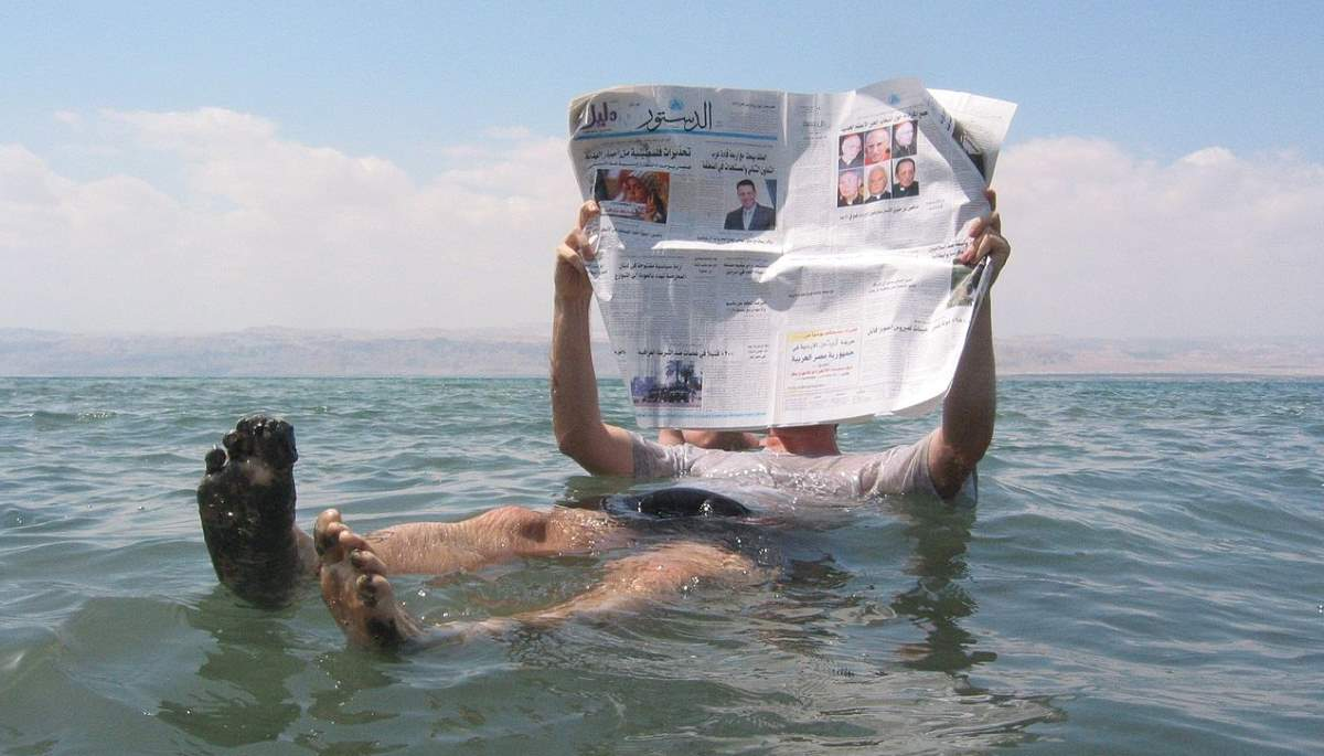 The Dead Sea- Can people Really Float on it?