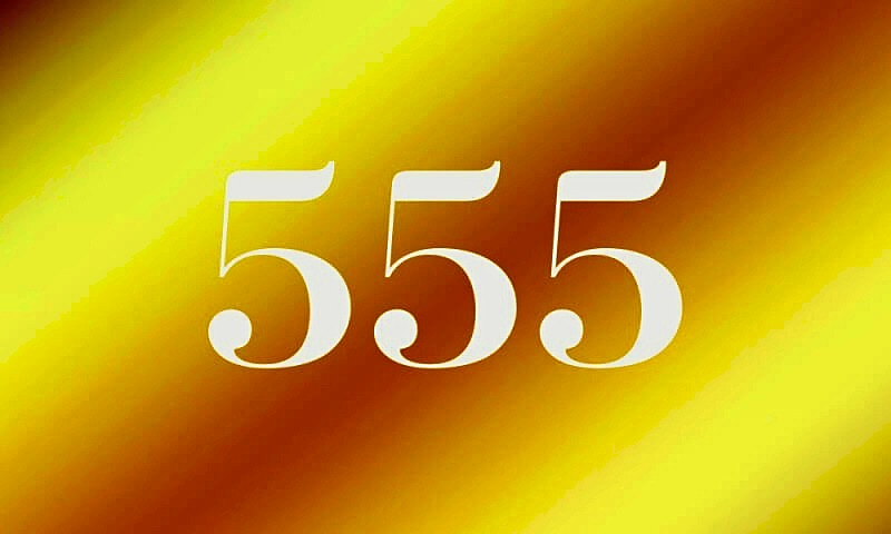Number 555 Meaning
