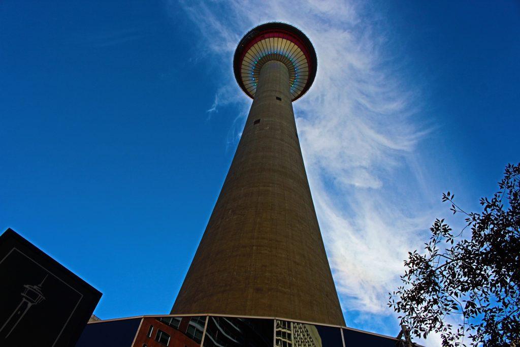 Calgary Tower, Calgary, Canada skywalks