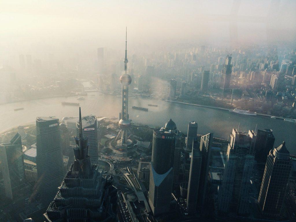 Oriental Pearl Tower, China skywalks