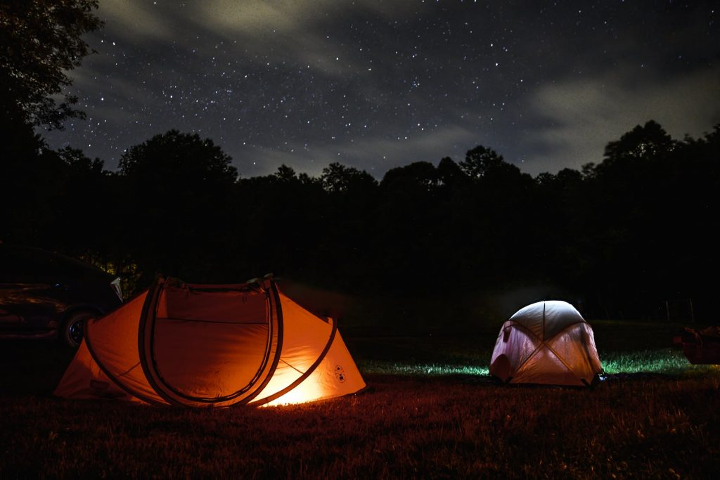 Sleep Under the Stars 2020 Bucket List