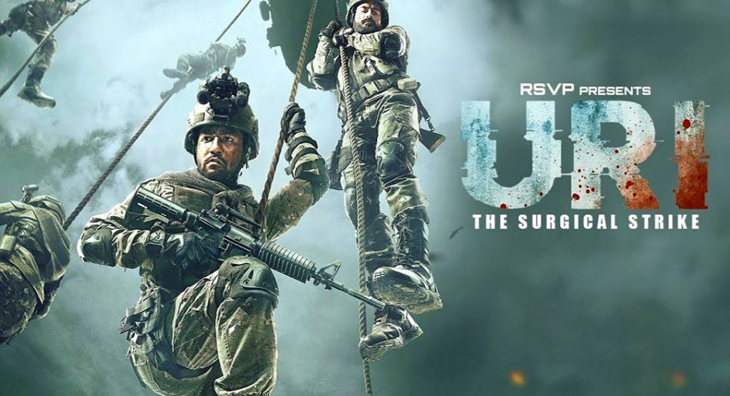 Best Movies of 2019 Uri: The Surgical Strike by Aditya Dhar