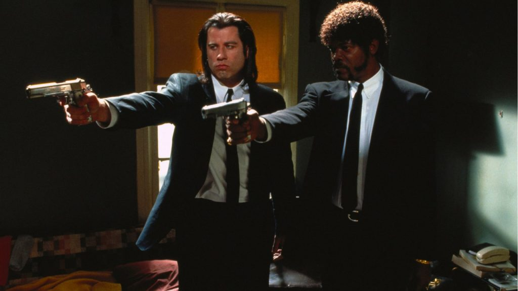 Pulp Fiction new year celebration