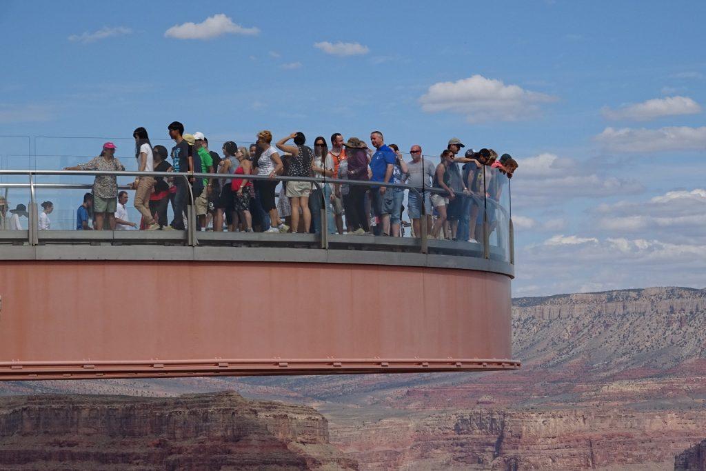 Arizona- the Grand Canyon skywalk USA