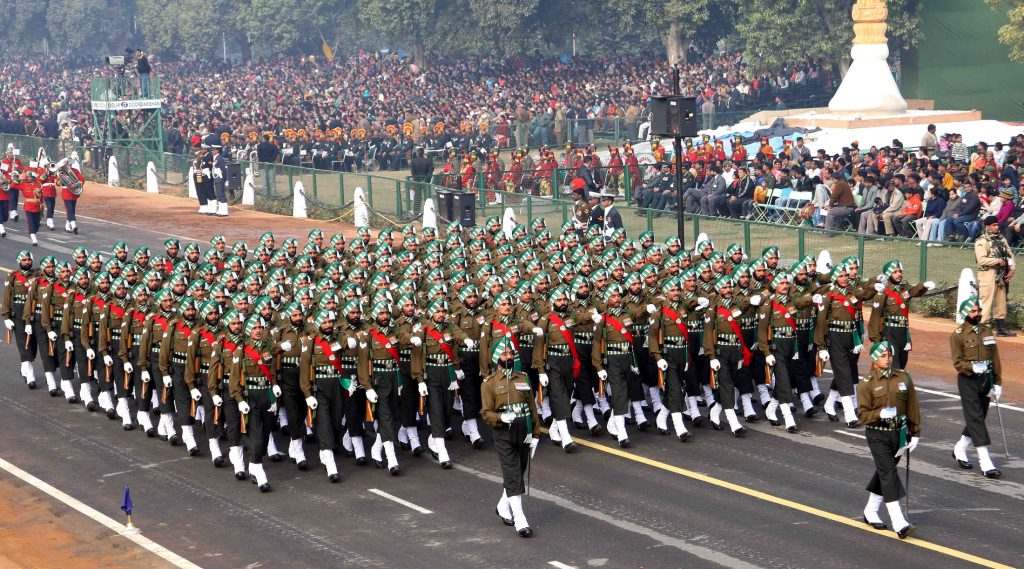 National Indian Army Day   parade