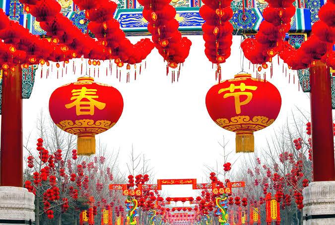 Spring festival China 2020